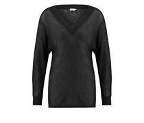 DRAPEY Strickpullover black