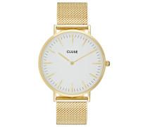 LA BOHÈME - Uhr - gold-coloured/white