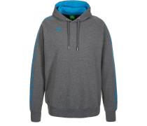 GRAFFIC 5C HOODIE Sweatshirt gray/light blue
