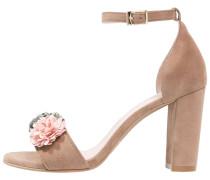 TANG - High Heel Sandaletten - antesand machiatto