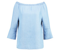GAKSI - Bluse - light blue denim