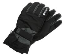 CAUCAZ Fingerhandschuh black/dark grey