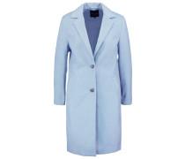 Wollmantel / klassischer Mantel light blue