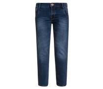 PRESTON Jeans Straight Leg darkblue denim