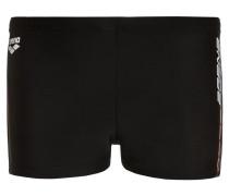 SUOMI - Badehosen Pants - black/pix blue