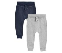 2 PACK - Jogginghose - grey/blue