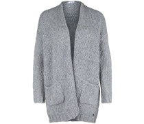 Strickjacke light gray