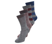 JACDOMMI 4 PACK Socken pomegranate
