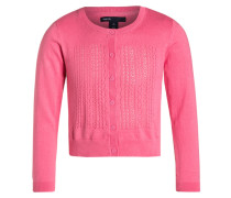 Strickjacke hot pink