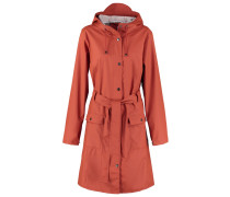 CURVE Regenjacke / wasserabweisende Jacke rust