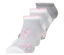 3 PACK - Socken - grey/pink