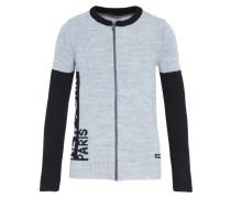 Strickjacke grey/black