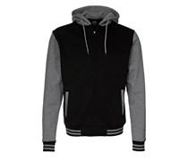 2TONE ZIP Sweatjacke black / grey