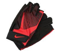 CORE Kurzfingerhandschuh black/university red