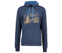 HALATION - Kapuzenpullover - vintage navy heather