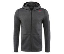 Sweatjacke - dark grey heather