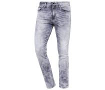 SLIM STRAIGHT Jeans Slim Fit grey denim