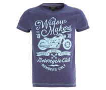 TADEUSZ - T-Shirt print - mood indigo melange