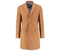 Wollmantel / klassischer Mantel tan