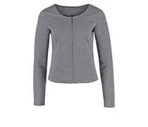 VINAJA Blazer medium grey melange