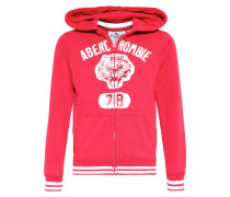 CORE Sweatjacke red