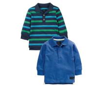 2 PACK Poloshirt blue