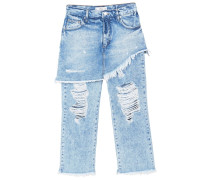GIGI - Jeans Bootcut - medium blue