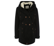 COOL COTTON PARKA Parka noir
