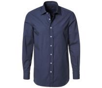 Businesshemd dunkelblau