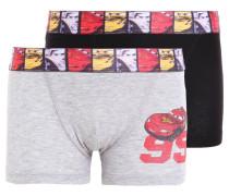 2 PACK Panties gris chine