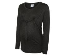 Langarmshirt - dark grey melange