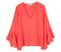 RISKI - Bluse - coral red