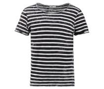 DABITO - T-Shirt print - black white stripes