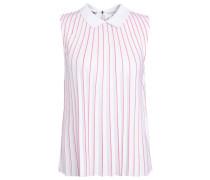 Bluse - white/sirop pink