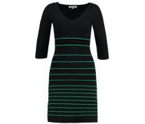 ROKY Strickkleid noir/vert