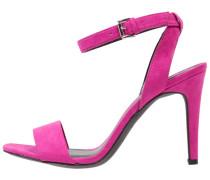 ROCK - Riemensandalette - bright pink