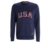 USA Sweatshirt midnight/white