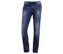 AEDAN Jeans Slim Fit mid stone wash denim