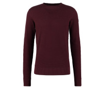 CRUSADER Strickpullover bordeaux