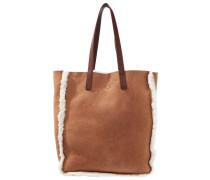 CLAIRE Shopping Bag chestnut