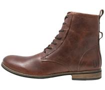 WALKER Schnürstiefelette brown