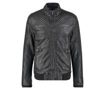 ROBSON Lederjacke vintage black