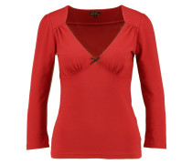 IN LOVE Langarmshirt red