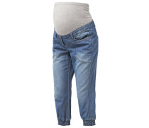 MLANJA Jeans Relaxed Fit medium blue denim