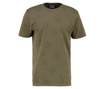 LETTER - T-Shirt print - olive green