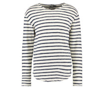 ALISTER - Strickpullover - midnight blue/white