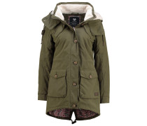 CLANCY Parka army green