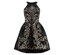 CHRISTINA Cocktailkleid / festliches Kleid black/gold