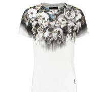 WILD NIGHT - T-Shirt print - white