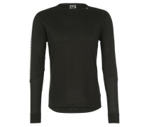 DRY STRIPE 2 Langarmshirt black
